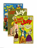 Golden Age (1938-1955):Romance, A Date With Judy Group (DC, 1951-59) Condition: Average GD/VG.Five-issue group lot includes #20, 27, 32, 50, and 68. Approx...(Total: 5 Comic Books)