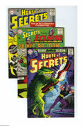 Silver Age (1956-1969):Mystery, House of Secrets Group (DC, 1965-66) Condition: Average FN/VF.Five-issue group lot includes #73 (first appearance of Mark M...(Total: 5 Comic Books)