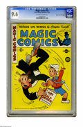 Golden Age (1938-1955):Miscellaneous, Magic Comics #53 Mile High pedigree (David McKay Publications, 1943) CGC NM+ 9.6 Off-white to white pages. Overstreet 2005 N...