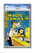 Golden Age (1938-1955):Miscellaneous, Magic Comics #74 Mile High pedigree (David McKay Publications, 1945) CGC NM+ 9.6 Off-white to white pages. Overstreet 2005 N...