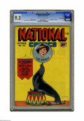 Golden Age (1938-1955):Superhero, National Comics #44 Pennsylvania pedigree (Quality, 1944) CGC NM- 9.2 Off-white to white pages. First appearance of Peaches....