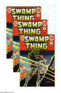 Bronze Age (1970-1979):Horror, Swamp Thing #3 Group (DC, 1973) Condition: Average VF+. Includedare 15 copies of issue #3, featuring the first full appeara...(Total: 15)