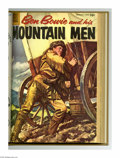 Silver Age (1956-1969):Adventure, Ben Bowie and His Mountain Men #7-17 Bound Volume (Dell, 1956-59). These are Western Publishing file copies that have been t...
