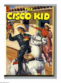Golden Age (1938-1955):Western, The Cisco Kid #14-25 Bound Volume (Dell, 0). These are WesternPublishing file copies that have been trimmed and bound into ...