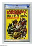 Magazines:Horror, Creepy #1 (Warren, 1964) CGC VF+ 8.5 Off-white pages. Warren's first full-length horror comic magazine. First appearance of ...
