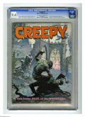 Magazines:Horror, Creepy #7 (Warren, 1966) CGC NM 9.4 Off-white to white pages. Frank Frazetta and Roy Krenkel cover. Frazetta, Alex Toth, Joe...