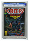 Modern Age (1980-Present):Horror, Creepy #122 (Warren, 1980) CGC NM- 9.2 Off-white to white pages.Lee Katz cover. Rudy Nebres frontispiece. Alex Toth, Mike Z...
