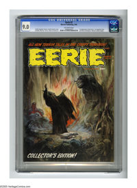 Eerie #2 (Warren, 1966) CGC VF/NM 9.0 Off-white pages. First newsstand issue. First appearance of Cousin Eerie. Frank Fr...