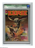 Magazines:Horror, Eerie #34 (Warren, 1971) CGC Qualified NM+ 9.6 Off-white pages. Boris Vallejo cover. Tom Sutton and Mike Royer art. Pat Brod...