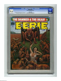 Magazines:Horror, Eerie #103 (Warren, 1979) CGC NM+ 9.6 White pages. Terrence Lindall cover. Paul Gulacy, Val Mayerik, and Lee Elias art. Over...