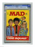 """Magazines:Mad, Mad #127 Gaines File pedigree (EC, 1969) CGC NM 9.4 White pages. """"The Mod Squad"""" cover and satire. """"Bullitt"""" movie parody. J..."""