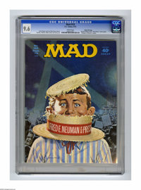 """Mad #153 Gaines File pedigree (EC, 1972) CGC NM+ 9.6 White pages. """"Dirty Harry"""" movie spoof. """"Religion in..."""
