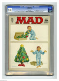 """Magazines:Mad, Mad #172 Gaines File pedigree (EC, 1975) CGC NM 9.4 White pages.""""Six Million Dollar Man"""" and """"The Great Gatsby"""" parodies. N..."""