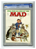 """Magazines:Mad, Mad #184 Gaines File pedigree (EC, 1976) CGC VF+ 8.5 Off-whitepages. """"One Flew Over The Cuckoo's Nest"""" and """"Rhoda"""" spoofs. ..."""
