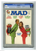 Magazines:Mad, Mad #188 Gaines File pedigree (EC, 1977) CGC NM+ 9.6 Off-white towhite pages. Jack Rickard cover featuring the Bionic Woman...