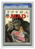 """Magazines:Mad, Mad #192 Gaines File pedigree (EC, 1977) CGC VF/NM 9.0 Off-white towhite pages. """"King Kong"""" and """"Network"""" movie parodies. B..."""