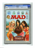 "Magazines:Mad, Mad #193 Gaines File pedigree (EC, 1977) CGC VF 8.0 Off-whitepages. Jack Rickard cover. ""Charlie's Angels"" TV parody. ""Case..."