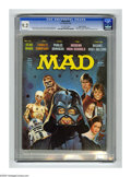 "Magazines:Mad, Mad #196 Gaines File pedigree (EC, 1978) CGC NM- 9.2 Off-whitepages. ""Star Wars"" cover and Parody. ""Three's Company"" spoof...."