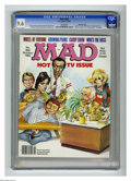 Magazines:Mad, Mad #266 Gaines File pedigree (EC, 1986) CGC NM+ 9.6 White pages. Mort Drucker wraparound cover featuring Johnny Carson, Joa...