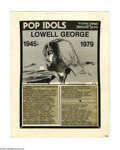 Original Comic Art:Comic Strip Art, Stan Drake - Pop Idols and the Disco Scene Daily and Sunday ComicStrip Original Art, Group of 29 (Universal Press Syndicate, ...(Total: 29 Items)