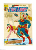 Original Comic Art:Miscellaneous, Superman's Girl Friend, Lois Lane #109 Cover Hand Colored ColorGuide (DC, 1971). A photo copy of Dick Giordano's dynamic co...