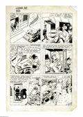 Original Comic Art:Panel Pages, Bob Oksner and Wally Wood - Limited Collector's Edition #C-34, Angel and the Ape page 12 Original Art (DC, 1975). Two master...