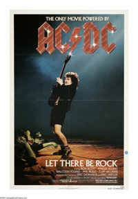 """AC/DC: Let There Be Rock (Warner Brothers, 1982). One Sheet (27"""" X 41""""). """"Do you feel you're a star? -- N..."""