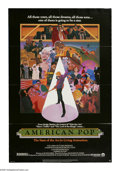 "Movie Posters:Animated, American Pop (Columbia, 1981). One Sheet (27"" X 41""). The rise ofpopular music in America is reflected in the life stories ..."