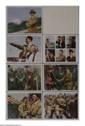 """Movie Posters:Documentary, Black Fox: The True Story of Adolf Hitler (MGM, 1962). Lobby Cards (7) (11"""" X 14""""). The Oscar winner for Best Documentary in... (Total: 7 Items)"""