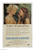 "Movie Posters:Adventure, Blue Lagoon (Columbia, 1980). One Sheet (27"" X 41""). Two childrenshipwrecked alone on a desert island grow up together and ..."