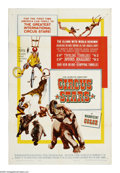 "Movie Posters:Documentary, Circus Stars (Paramount, 1960). One Sheet (27"" X 41""). As part of a cultural exchange with the Soviet Union, this film of a ..."