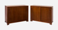 Furniture , Terence Harold Robsjohn-Gibbings (British , 1905-1976). Pair of Cabinets, circa 1950, Widdicomb Furniture. Mahogany and ... (Total: 2 Items)