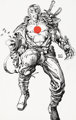 Barry Windsor-Smith Bloodshot #1 Cover and Preliminary Artwork Original Art Group of 2 (Valiant, 1993).... (Total: 2 Ori...