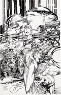 Original Comic Art:Covers, Barry Windsor-Smith Wildstorm Rising...