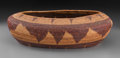 American Indian Art:Baskets, A Pomo Coiled Basket...