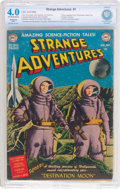 Golden Age (1938-1955):Science Fiction, Strange Adventures #1 (DC, 1950) CBCS Restored (Slight) VG 4.0Off-white to white pages....