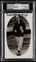 Autographs:Post Cards, Rube Marquard Signed Postcard PSA/DNA Authentic....