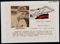 Autographs:Others, Charlie Gehringer Signed Cut Signature....