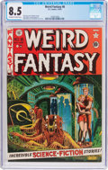 Golden Age (1938-1955):Science Fiction, Weird Fantasy #8 (EC, 1951) CGC VF+ 8.5 Off-white to whitepages....