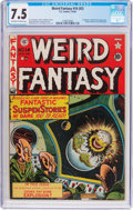 Golden Age (1938-1955):Science Fiction, Weird Fantasy #14 (#2) (EC, 1950) CGC VF- 7.5 Off-white to whitepages....