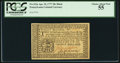 Colonial Notes:Pennsylvania, Pennsylvania April 10, 1777 20s PCGS Choice About New 55.. ...