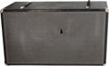 Musical Instruments:Amplifiers, PA, & Effects, Circa 1970s Traynor YF-10 Black Amplifier Speaker Cabinet,#5532....