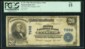National Bank Notes:Montana, Glasgow, MT - $20 1902 Plain Back Fr. 651 The First NB Ch. # 7990. ...