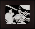 "Autographs:Photos, Mickey Mantle ""No. 7"" Signed Oversized Photograph...."