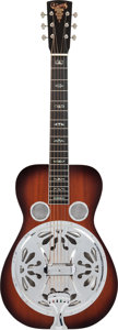 Musical Instruments:Resonator Guitars, 1980's Crafters of Tennessee Tut Taylor Sunburst Resonator Guitar, Serial # 0612801TT....