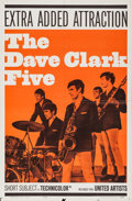 "Movie Posters:Rock and Roll, The Dave Clark Five (United Artists, 1965). One Sheet (27"" X 41"").Rock and Roll.. ..."