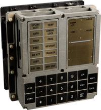 Apollo Guidance Computer: Original Display and Keyboard | Lot #50059 ...