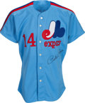 Baseball Collectibles:Uniforms, 1984 Pete Rose Game Worn Montreal Expos Jersey. ...