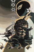 Original Comic Art:Covers, Steve Rude Crossroads #1 Cover Painting Jon Sable OriginalArt (First, 1988)....