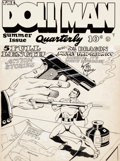 Original Comic Art:Covers, Gill Fox Doll Man Quarterly #3 Summer Issue Cover Original Art (Quality Comics, 1942)....